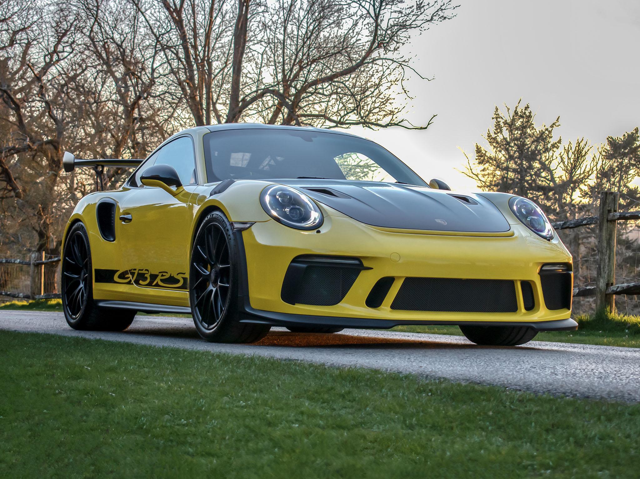 Porsche 991.2 GT3 RS Weissach